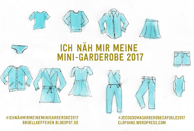 Ich näh mir meine Mini-Garderobe 2017