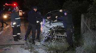 Τέσσερις νέοι νεκροί σε τροχαίο με 17χρονο οδηγό στον Εύοσμο