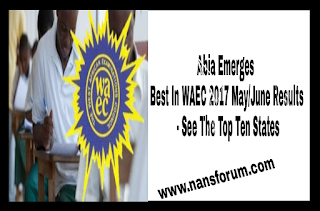 Image For Abia Emerges Best In WAEC 2017 May/June Results - See The Top Ten States