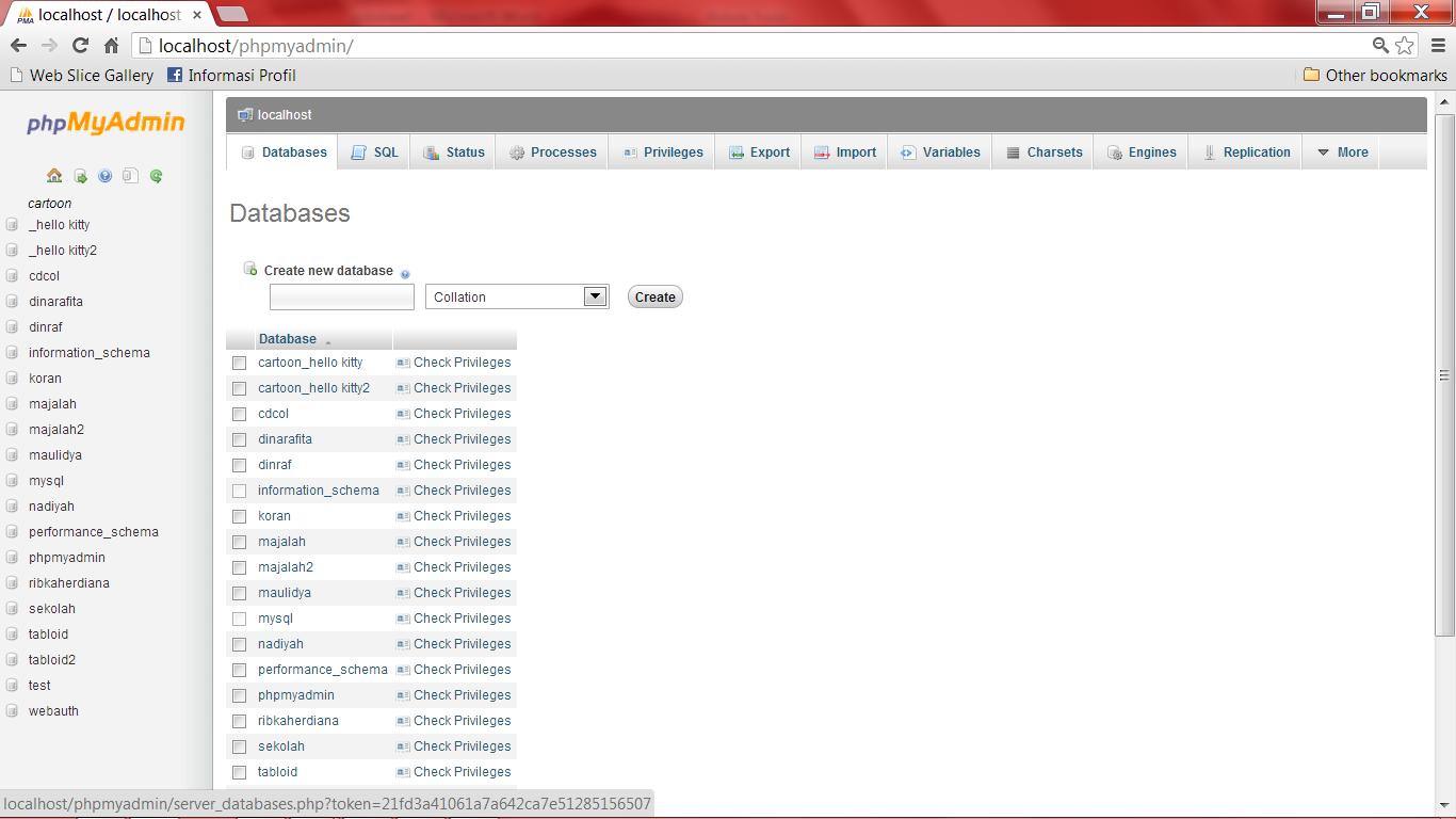 Contoh Pembuatan Database Dengan Xampp - Viral News Top