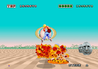 Arcade Space Harrier