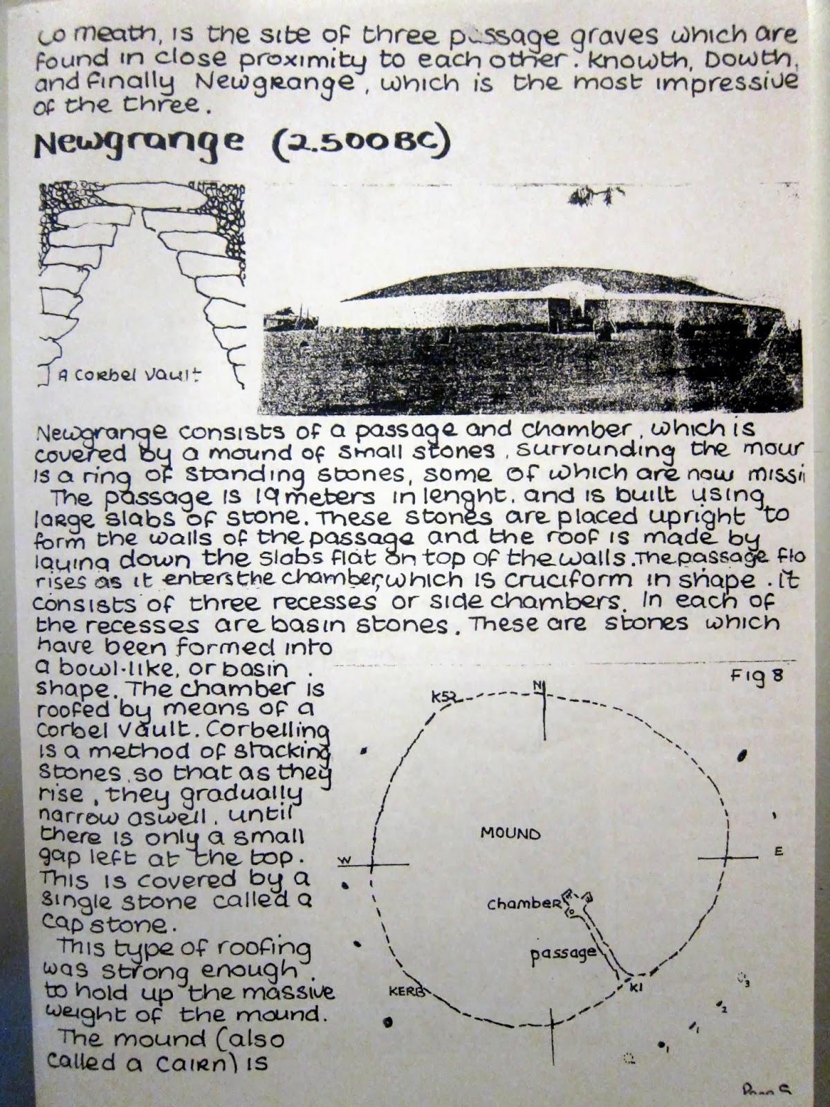 Newgrange essay art history