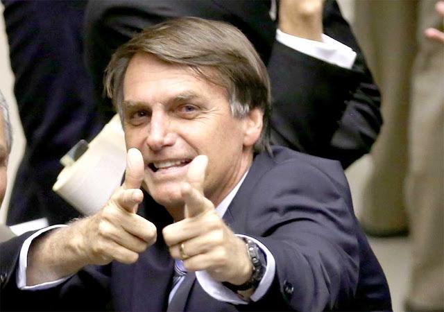 O líder da corrida presidencial no Acre, Jair Bolsonaro vem ao Acre no próximo sábado dia 1º
