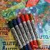 Lekt meg litt med distress crayons