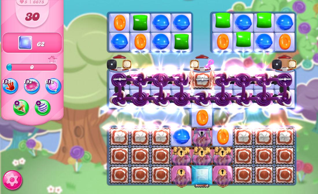 Candy Crush Saga level 6675