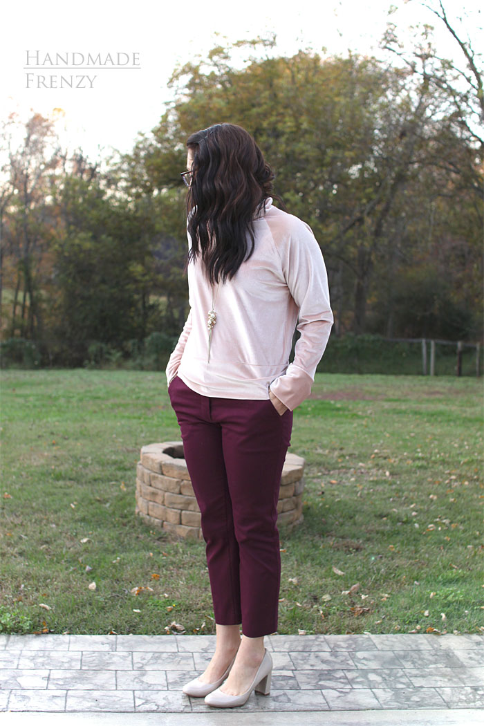 Sasha Trousers // Sewing For Women
