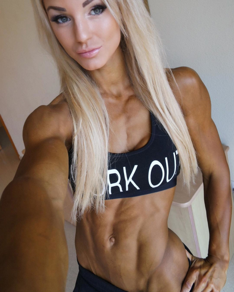 Fitness Model Catharina Wahl