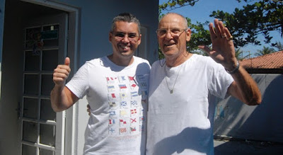 Recordista Júlio César Candela confirmou presença na VI Corrida Solidária de Ilha Comprida