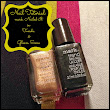 Mani Monday: Black & Gold Tutorial