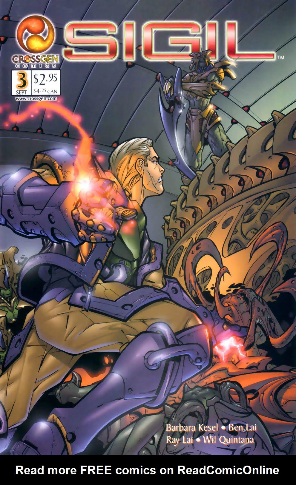 Read online Sigil (2000) comic -  Issue #3 - 1