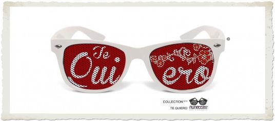 occhiali da sole te quiero