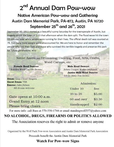 9-25/26 Second Annual Dam Pow-Wow