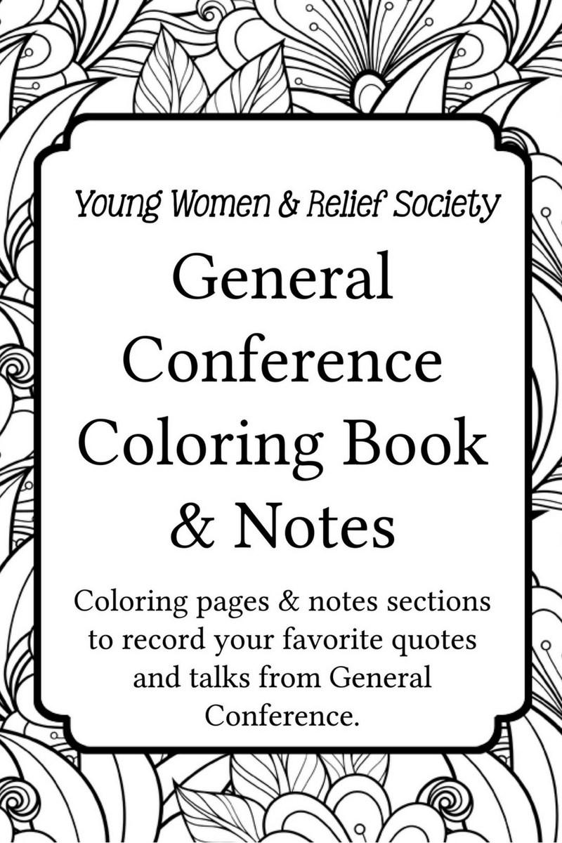 Family and Arts.: Conferencia General: un cuaderno para colorear ...