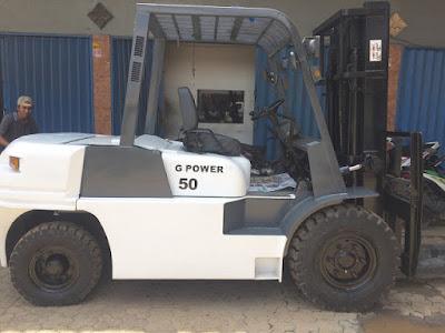 Forklift Rekondisi GC Power 5 Ton tahun 2012