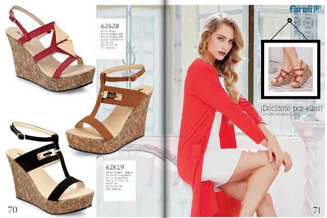 sandalias para las damas