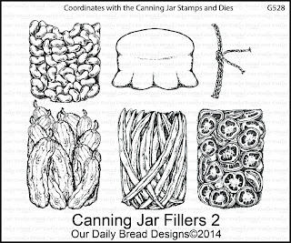 Stamps - Our Daily Bread Designs Canning Jar Fillers 2