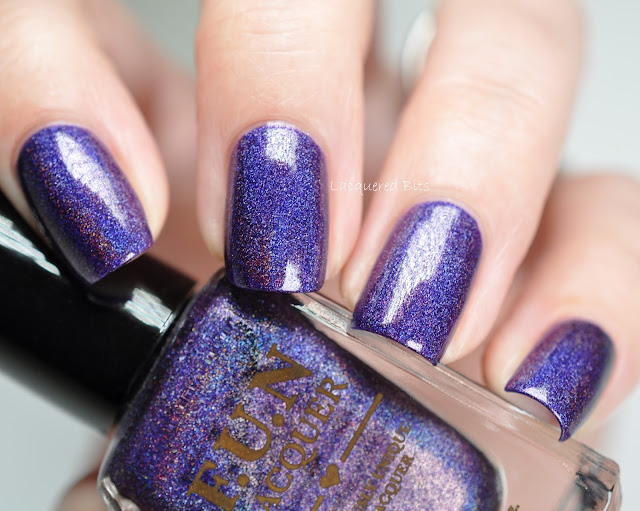 F.U.N Lacquer Evening Gown Swatches & Review
