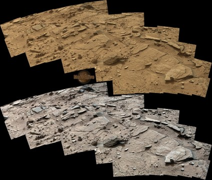 "Sol 311 Curiosity Right Mastcam (M-100) Return to ""Shaler"" 2"