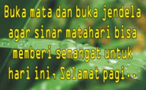 """100 Gambar Kata Ucapan Selmat Pagi Terbaru"":"