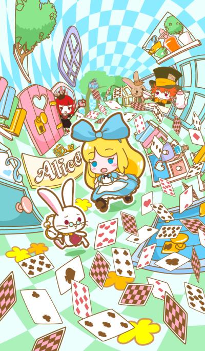 [Alice's Adventures in Wonderland] -