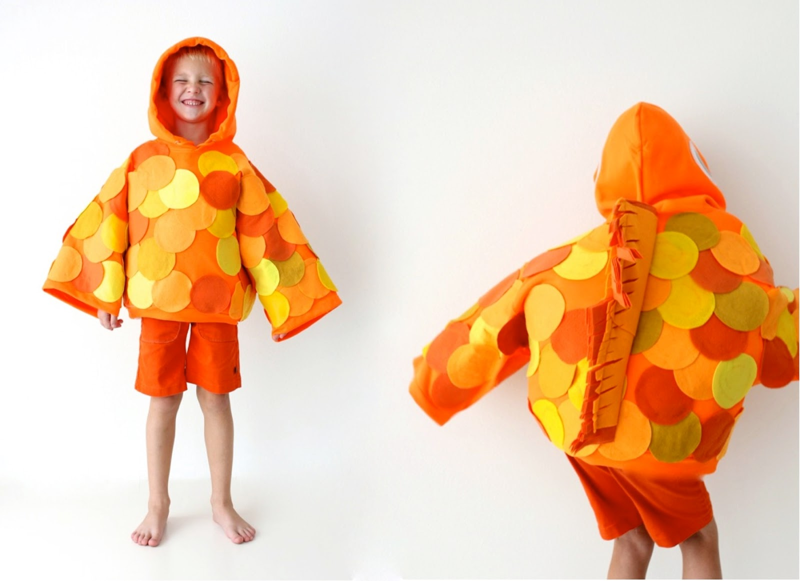 Goldfish Costume  sc 1 st  Made Everyday : easy fish costume  - Germanpascual.Com