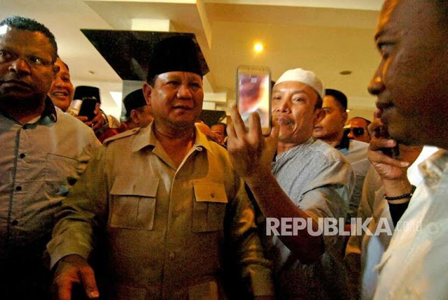 Prabowo Pilih Rayakan Ultah dengan Berdonasi untuk Sulteng