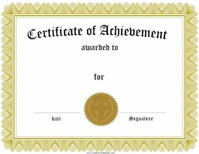 Award Certificate Template Pdf Mkiaw