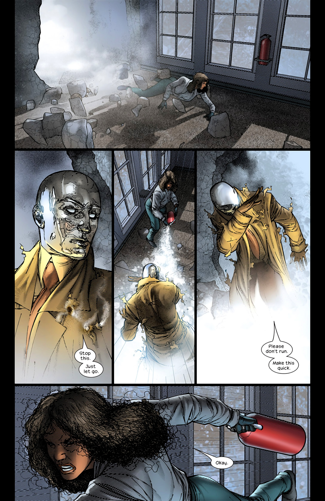 Read online Ultimate Extinction comic -  Issue #2 - 22