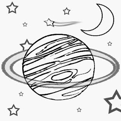 space drawing solar planets system planet coloring outer pages clipart printable draw craft class science moon lesson stars coloringfree clip