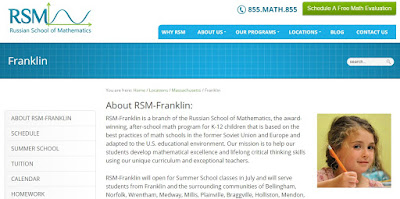 Russian School of Math - Franklin