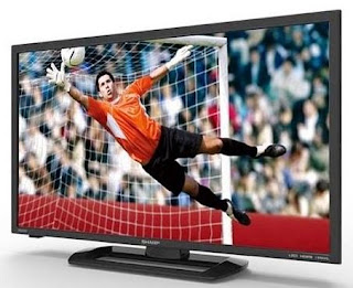 Desain TV LED Sharp Aquos LC-32LE260 32 Inch
