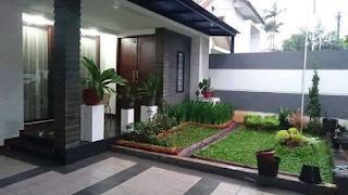 model halaman rumah minimalis sederhana