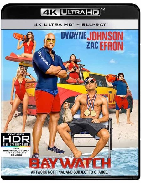 Baywatch 2017 UNRATED 1080p Bluray H264 AAC-RARBG