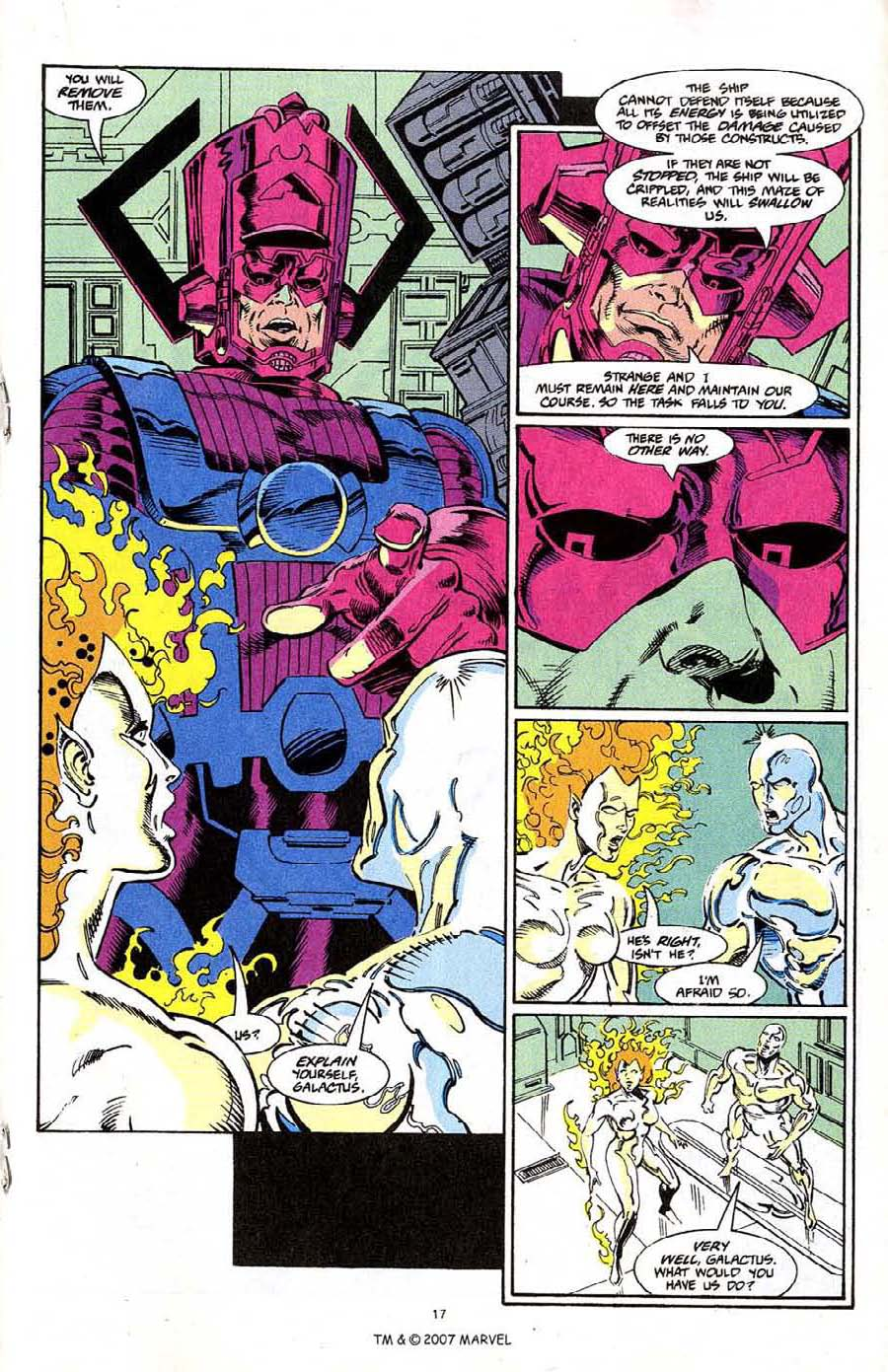 Read online Silver Surfer (1987) comic -  Issue #68 - 19