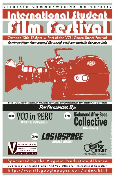 VCU 2006 International Student Film Festival Poster