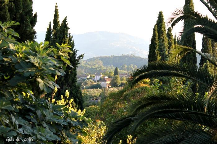 Vistas de la colina de Plascassier desde Il Monticello