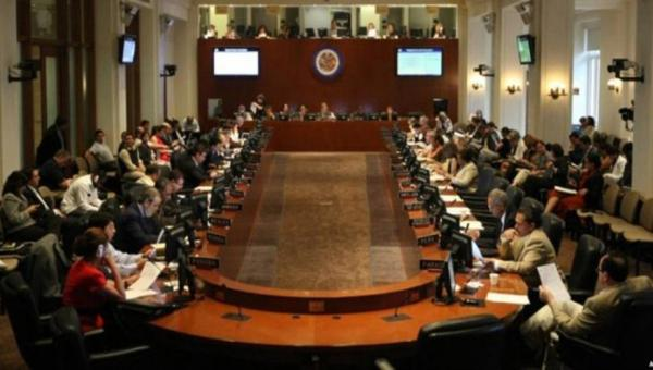 OEA realizó reunión informal antes de la sesión del consejo permanente sobre Venezuela