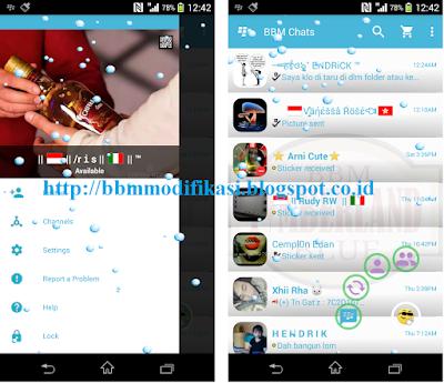 BBM Mod Blue v2.12.0.11 Clone