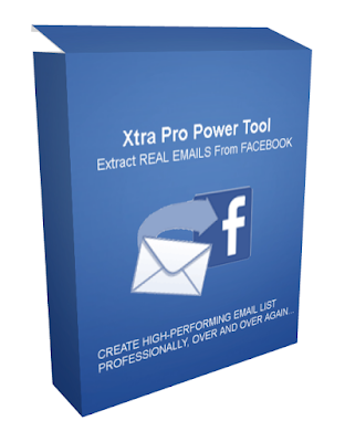 [HOT GIVEAWAY] Xtra Pro [Extract REAL EMAILS From FACEBOOK]