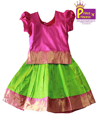 kutties pattu pavadai langa silk