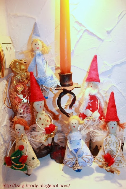 Рождественские гномочки