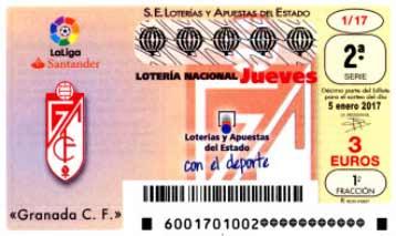 loteria nacional jueves 5-01-2017