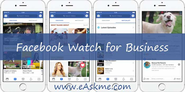Why is Facebook Watch Important for Business: eAskme