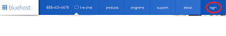 Create Wordpress Website with Bluehost - Bluehost HomeLogin