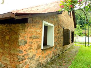 Paredes Externas da Casa do Colono, em Petrópolis