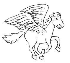 Immagini Di Cavalli Da Colorare Scuolissima Com