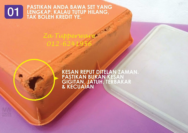 KREDIT/REPLACEMENT TUPPERWARE LAMA