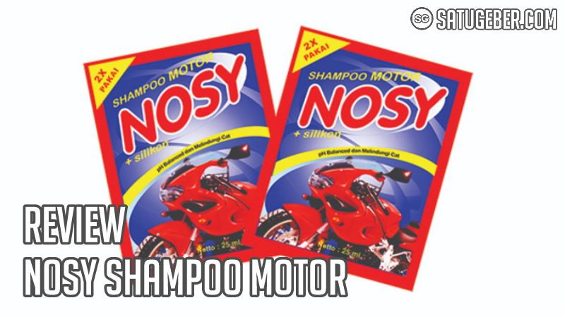 foto Nosy shampoo motor sachet
