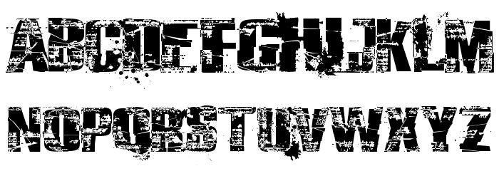 Survival Horror font