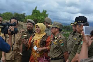 Dua Unit Exacavator Penambangan Illegal di Balah Hilir Lubuk Alung, Diamankan Tim Gabungan